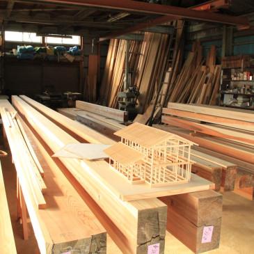 木材が納品されました