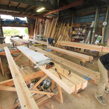 菖蒲町にて平屋の新築工事が始まりました