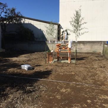 久喜市で平屋の新築工事が始まりました。