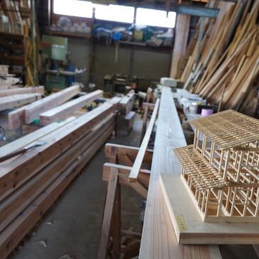 新築工事の工事契約から手刻み〜木組の家づくり